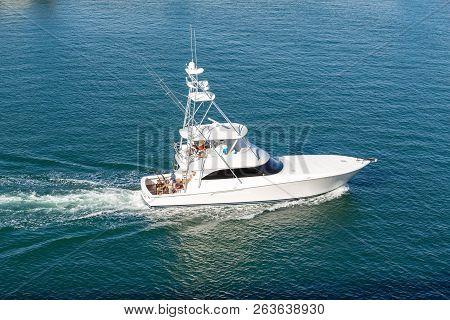 San Juan, Puerto Rico - December 7, 2014: The National Marine Manufacturers Association Identifies 3