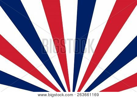Blue Red White Rays Vector Photo Free Trial Bigstock