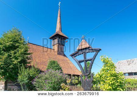 Memorial Church Mihai Viteazul On A Sunny Summer Day In Alba Iulia, Romania