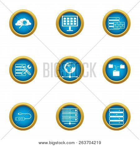 Opportunity Icons Set. Flat Set Of 9 Opportunity Vector Icons For Web Isolated On White Background