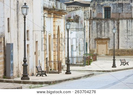 Specchia, Apulia, Italy - Visiting The Historic Old City Center Of Specchia