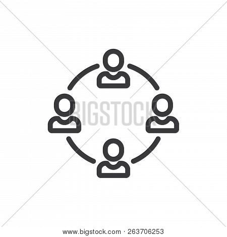 Workers Vector Icon On White Background. Workers Icon In Modern Design Style. Workers Vector Icon Po