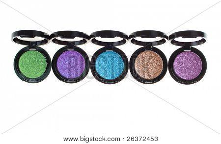 colorful eyeshadow; beautiful makeup accessories
