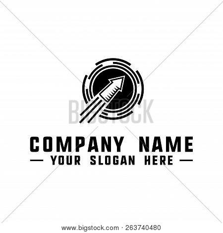 Rocket Logo. Rocket Design Template. Vector And Illustration.