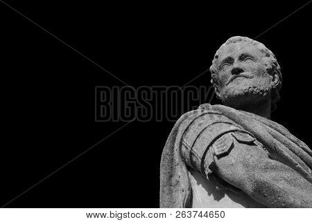 Vettor Pisani Great Admiral Of The Republic Of Venice In The Middle Ages. Statue Erected In 1779 In