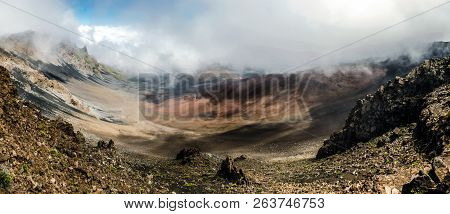 Haleakala National Park Is An American National Park Located On The Island Of Maui In The State Of H