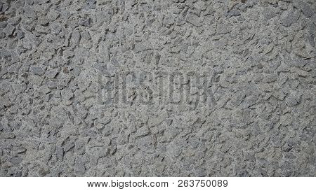 Rocky Grey/gray Background.  Coarse Grey/gray Background.  Pebble Background.