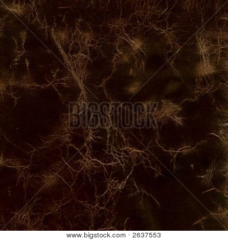 High Resolution Cracked Leather