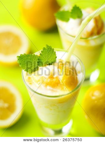 fruity summer cocktail