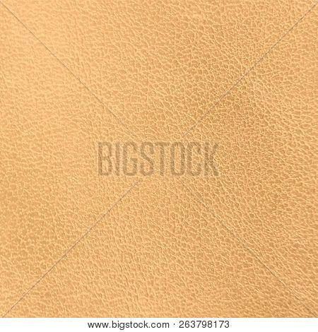 Golden Leather Texture Background For Design. Golden Concrete Texture. Vector Illustration.