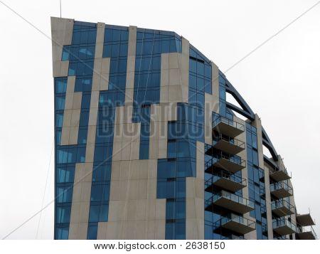 Futuristic Apartment Building