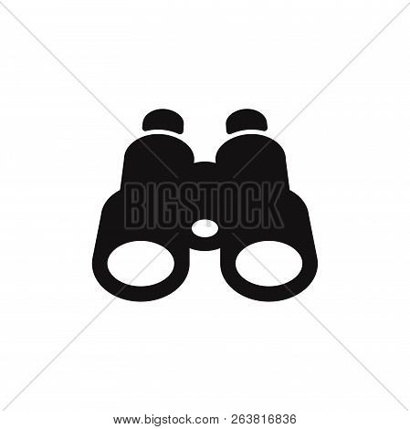 Binoculars Icon Isolated On White Background. Binoculars Icon In Trendy Design Style. Binoculars Vec