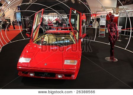 Essen, Germany - Nov 29: Lamborghini Countach From 1990 Shown At The Essen Motor Show In Essen, Germ