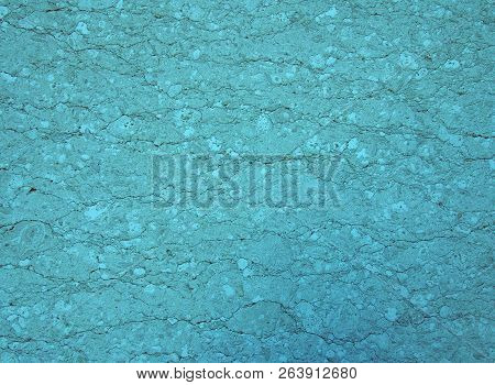 light blue turquoise stone texture with a cracked irregular granular textured surface with an uneven distressed conglomeration surface poster