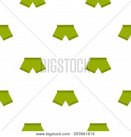 Green Man Boxer Briefs Pattern Seamless For Any Design Illustration