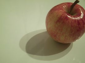 Apple With Shadows