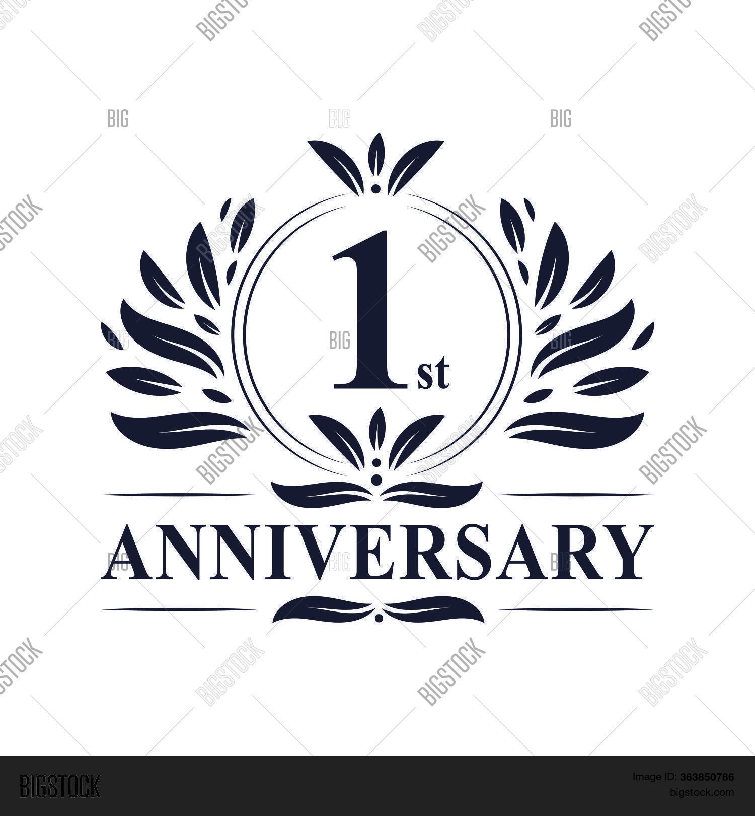 20+ 1St Anniversary Logo Design