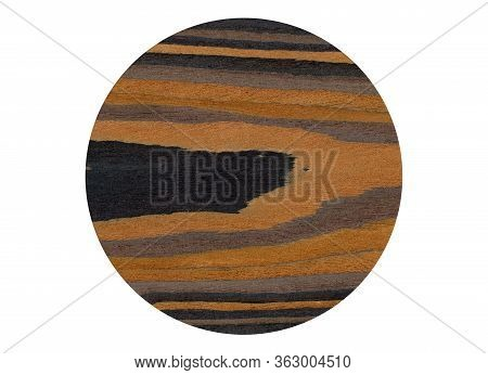 Wood Grain Texture. Ebony Wood, Can Be Used As Background, Pattern Background