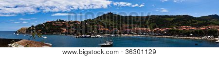 Collioure Bay Panoram