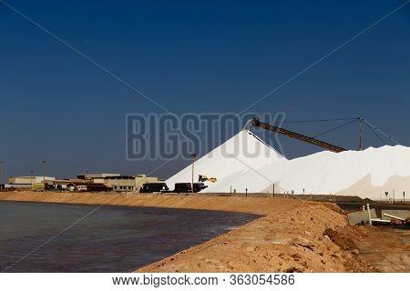 Sea Salt Piles