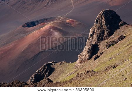 Crater on Haleakala