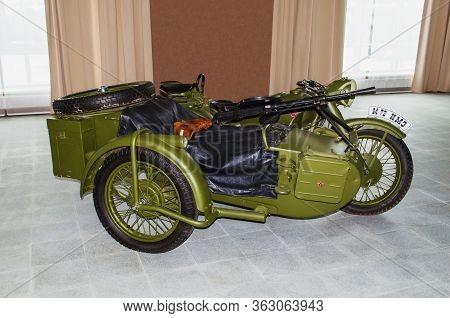 Soviet Motorcycle M-72
