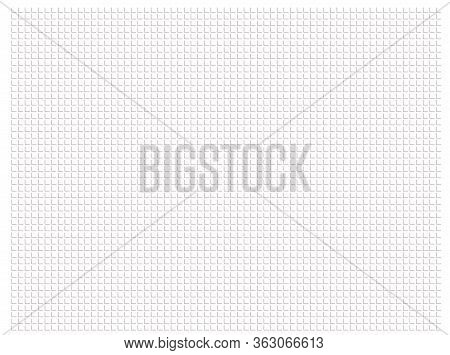 Abstract Pattern Right Angled Lines Arranged Horizontally And Perpendicularly Grey Color On White Ba