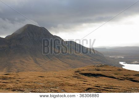 Fantastic Landscape Near Stac Pollaidh