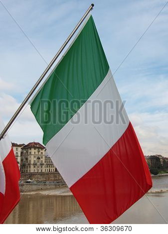 Flags, Turin, Italy