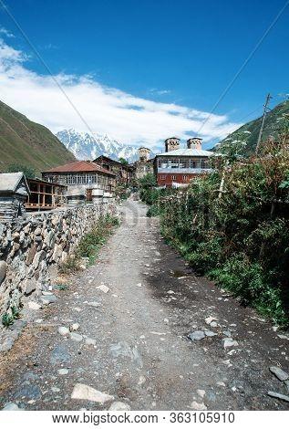 Road To The Ushguli Village - Upper Svaneti, Georgia, Europe