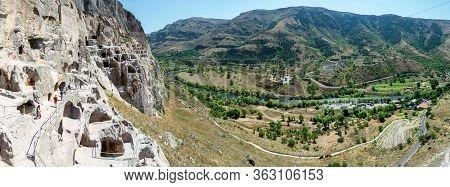Vardzia Cave City Complex In Georgia, Europe