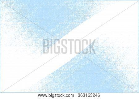 White Background With Cyan Overlay, Template For Presentation, Flyer, Banner, Poster, Cover. Web Des
