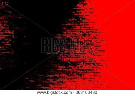 Abstract Background. The Combination Of Black And Red. Color Dispersion, Linear Transitions. Templat