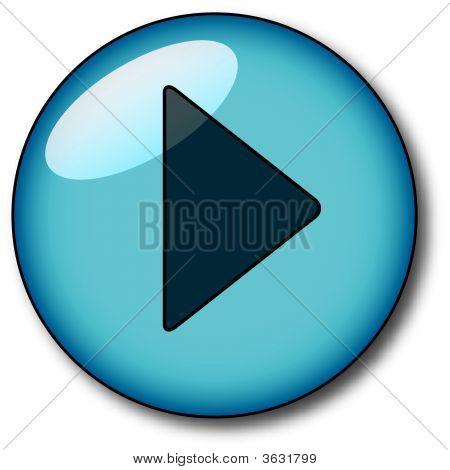 Aqua Btn Play Blue.