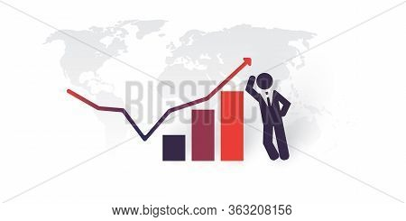New Possibilities, Hope - Economy Growth After Recession - Satisfied Business Man Standing Next To A