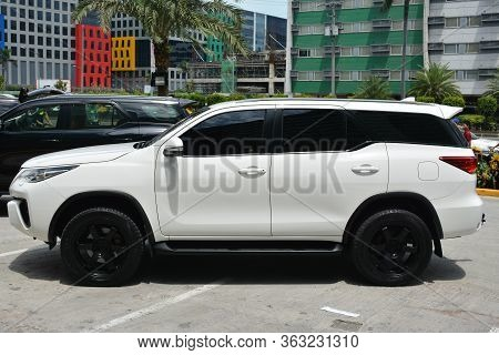 Pasay, Ph - May 26 - Toyota Fortuner At Toyota Carfest On May 26, 2019 In Pasay, Philippines.
