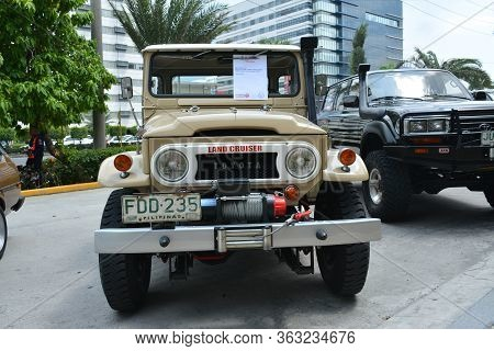 Pasay, Ph - May 26 - Toyota Land Cruiser Pick Up At Toyota Carfest On May 26, 2019 In Pasay, Philipp