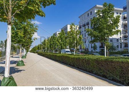 Frankfurt Am Main City, Germany , District Gallus, Gallusviertel : New European  Residential Quarter