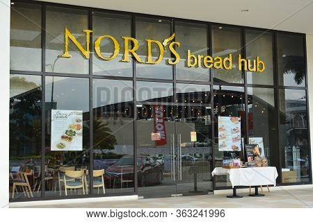 Pasay, Ph - May 26 - Nords Bread Hub Facade At Met Live Mall On May 26, 2019 In Pasay, Philippines.
