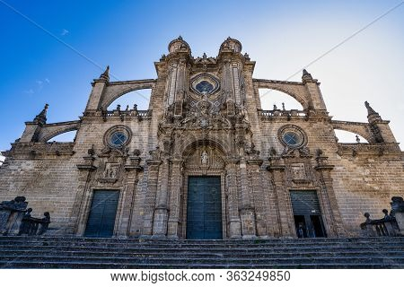 Dome Of The Jerez De La Frontera Cathedral, Catedral De San Salvador. Cadiz, Andalusia, Spain