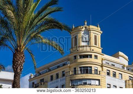 Plaza Del Arenal, Big Square In Jerez De La Frontera Cadiz Province Andalusia Spain