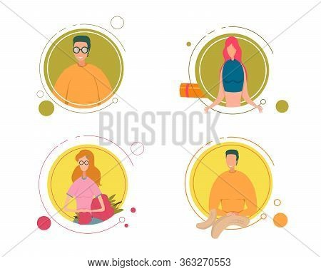 Healthy, Happy Man And Woman Proper Nutrition. Smiling Man In Round Glasses, Girl In Sportswear Clas