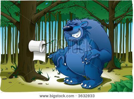 Do Bears S**T In The Woods?