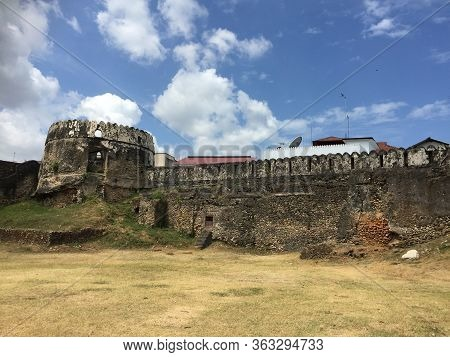 The Old Fort In The City Of Stonetown