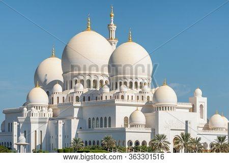 Grand Mosque in Abu Dhabi, United Arab Emirates