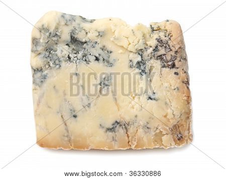 Blue Stilton cheese, traditional fine British food from the English Midlands poster