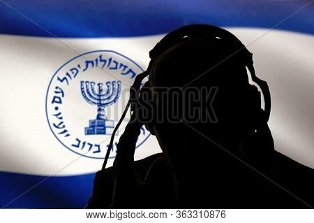 Secret Agent Of The Israeli Intelligence Eavesdropping On Conversations, Spy And Special Agent, The
