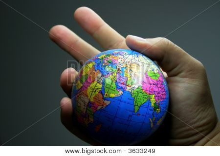 world in the hand