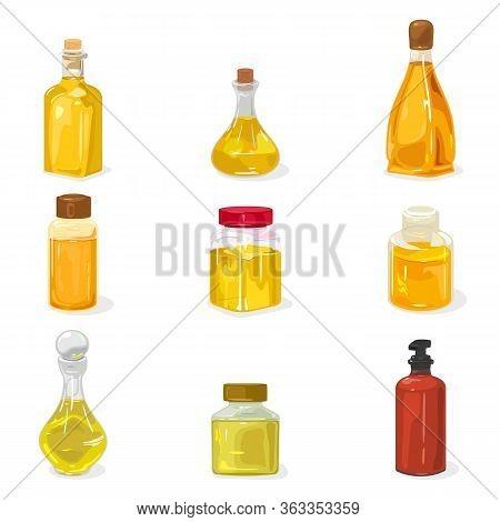 Big Set Glass Bottles, Vials, Jars Closed By Cap, Cork With Perfume, Cologne Water, Oil, Liquid Natu