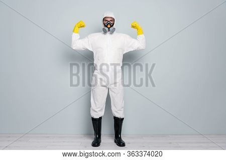 We Save Lives. Photo Of Disinfectant Show Strong Biceps Hands Pandemic Control Highly Recommend Citi